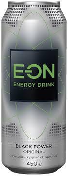 Купить <b>Энергетический напиток</b> Black <b>Power E-ON</b>, 0,45 л в ...