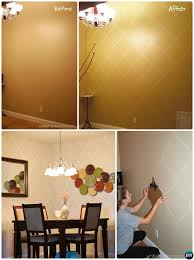 diy wall paint ideas. diy moroccan style wall stencil painting instruction-diy ideas techniques tutorials diy paint s