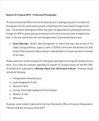 Professional Business Proposals Photography Business Proposal Templates 11 Free Word Pdf