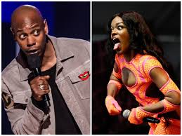 "Saycheese TV 👄🧀 ar Twitter: ""Azealia Banks says Dave Chappelle had an  affair with her and she can ruin his marriage. She also claims she slept  with many powerful men & can"