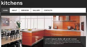 Kitchen Website Design Interior Awesome Design Inspiration