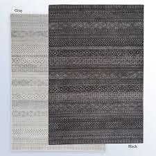 trestle band rectangle rug
