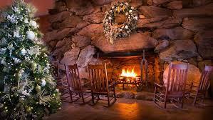 Holiday Dining In Asheville  Omni Grove Park InnGrove Park Inn Fireplace