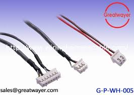 shielding wire harness ul awg jst phr pin connector