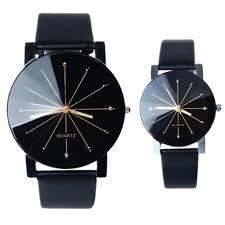<b>Fashion Watches</b> Women <b>Men Lovers Watch</b> Leather Quartz ...