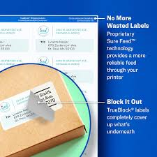 Avery Template 5163 Avery Shipping Address Labels Laser Printers 1 000 Labels 2x4 Labels Permanent Adhesive Trueblock 5163