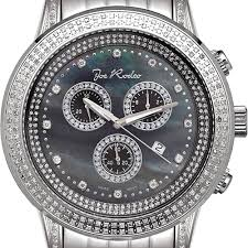 mens diamond watch joe rodeo sicily jrsi10 1 80 ct black