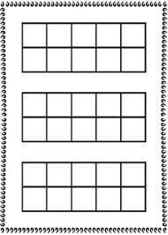 10 frame template 10 frame template by courtney c creations teachers pay teachers