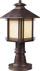elk lighting blackwell traditional outdoor post lantern light