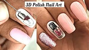 Nail Polish Art Hacks - 3D Nail Art Tutorial - How To Use Acrylic ...