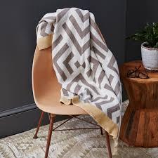modern throw blanket. Beautiful Blanket Savannah Hayes Zadar Throw Blanket  Modern Geometric Home Decor For  The Living Room And For Modern E