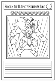 Small Picture Yu Gi Oh Card coloring page Free Printable Coloring Pages