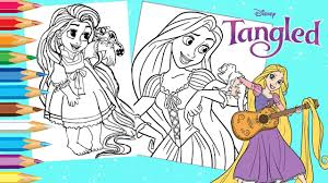 21 tangled printable coloring pages for kids. Coloring Disney Princess Rapunzel Baby Tangled Coloring Pages Youtube