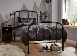 Single Bedroom Westbrook Single Bed Frame Black Dreams