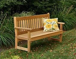 english garden bench. Delighful English 4u0027 Red Cedar English Garden Bench With Amazoncom