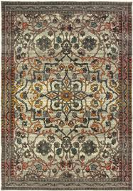 oriental weavers mantra 4929h ivory grey area rug