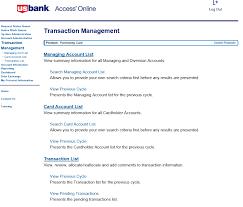 us bank organization short name login