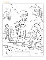Small Picture Coloring Page Friend Apr 2012 42 friend