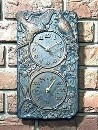 outdoor clock and thermometer kneeortho org