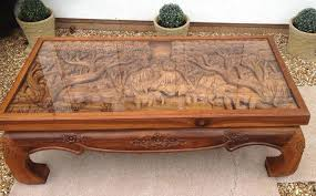 astounding hand carved coffee table hand carved coffee table hand carved wooden
