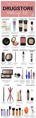 plete makeup kit list items needed