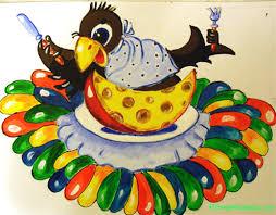рисунок на тему детский сад Города мира Рисунок для детского сада Ворона
