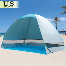 Pop Up Portable Beach Canopy Sun Shade Shelter Outdoor Camping ...