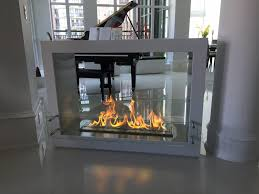 the bio flame sek free standing see through ethanol fireplace stone electric gas installation natural insert modern ventless wall fire mantel designs oak