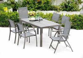 lifestyle garden solana 6 seat garden furniture dining set