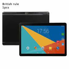 2021 yeni 10 inç tablet bilgisayar IPS HD ekran kablosuz GPS Android tablet  IPS HD ekran 10 inç tablet PC yuvarlak delik|Tablets