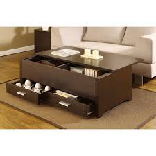 amazing of small coffee table with storage regarding narrow plans 15