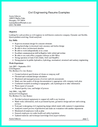Civil Engineer Resume Sample Civil Engineer Resume Format Freeownload Excellent Best Solutions 25
