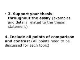 compare contrast essay thesis examples madrat co compare contrast essay thesis examples