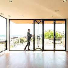 bifold doors accordion folding glass multi slide swing doors folding glass door frameless glass folding door systems