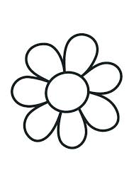 Flower Images Coloring Pages Flower Coloring Sheets With Flowers