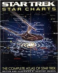 Complete Star Chart Star Trek Star Charts The Complete Atlas Of Star Trek