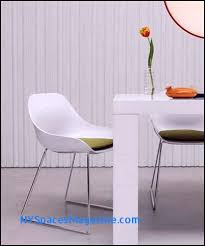 dining fancy modern white chair chairs icifrost house regarding design 2 25 modern white leather dining