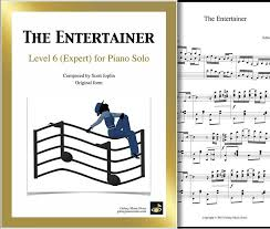 The entertainer is a 1902 classic piano rag written by scott joplin. The Entertainer Very Advanced Piano Sheet Music Original Form