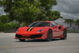Buying a high mileage ferrari can result in a discount of roughly £12,000 to £25,000. Ferrari 488 Pista For Sale In Miami Fl Euro Stable
