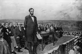 the gettysburg address by abraham lincoln classic speeches artist s depiction of lincoln s gettysburg address