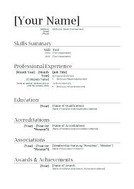 Microsoft Resume Templates Classy Online Resume Template Resume Templates Microsoft Word Free Download