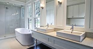 bathroom design with large