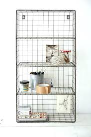 wall mounted wire shelf sophisticated best ideas on planters in architecture and interior shelving i59 wire