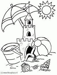 Kleurplaten Zandkasteel Brekelmansadviesgroep