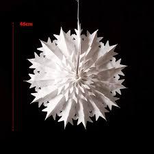 Mooseys Schneeflockendekoration Weihnachtsdeko Papierstern