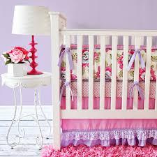 vintage girl crib bedding