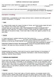 Rental Contract Template Word Lease Template Word Callatishigh Info