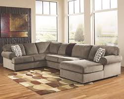 Ashley furniture sectional couches 12 Seat Large Jessa Place 3piece Sectional With Chaise Dune Rollover Ashley Furniture Homestore Sectional Sofas Ashley Furniture Homestore