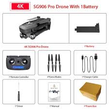 SG906 SG906 <b>Pro</b> GPS Drone with Wifi FPV 4K HD Camera Two ...