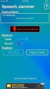 idiotify   Speech Jammer Challenge   voice changer on the App Store